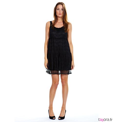 quelle chaussure avec robe en dentelle noire. Black Bedroom Furniture Sets. Home Design Ideas