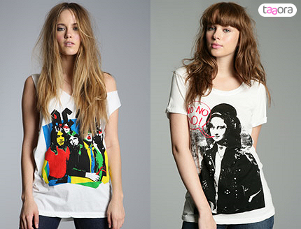 Image: 0810211 t-shirts serigraphies acdc amy winehouse.jpg.