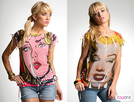 T-shirts Pop Art