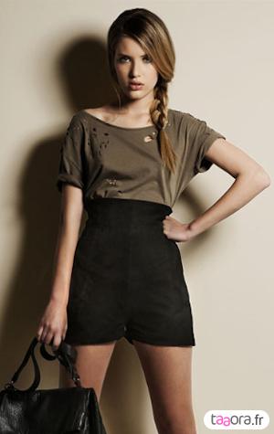 t shirt destroy style balmain en moins cher taaora blog mode tendances looks. Black Bedroom Furniture Sets. Home Design Ideas