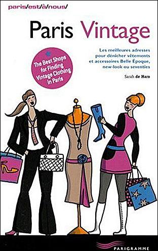 Livre Paris Vintage