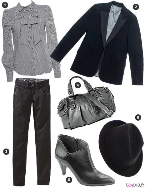 Häufig Idée de look style masculin/féminin – Taaora – Blog Mode  RD71