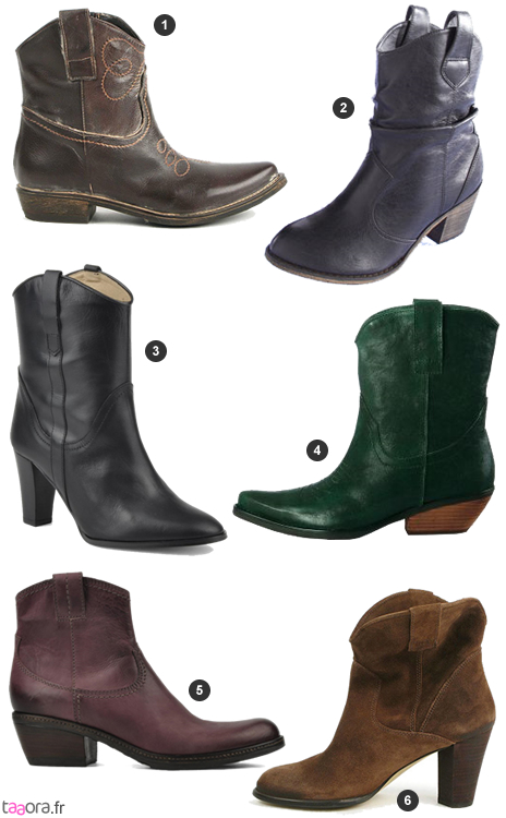 Boots style western hiver 2009,2010
