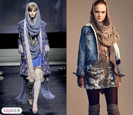 Écharpes tube en maille pour l hiver – Taaora – Blog Mode, Tendances ... b725eca3cb9