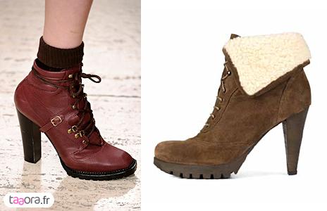 Boots de randonnée Automne/Hiver 2010-2011