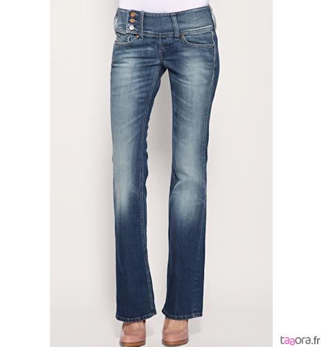 jeans levis bootcut taille haute. Black Bedroom Furniture Sets. Home Design Ideas