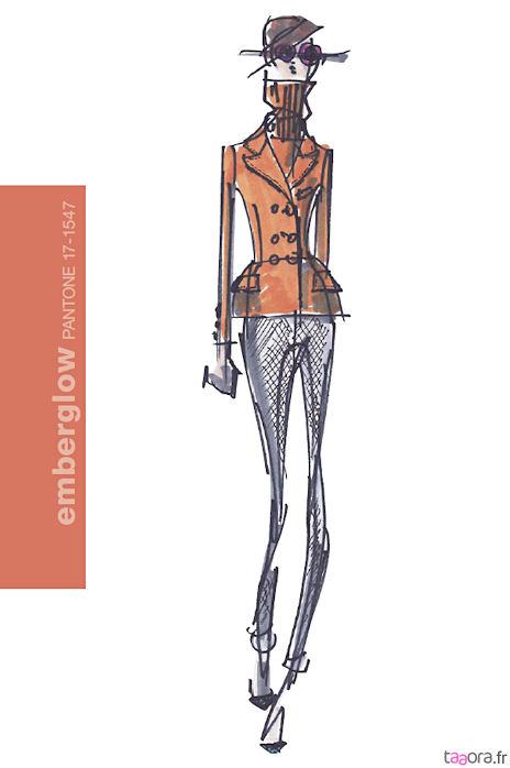 Couleurs Pantone mode Hiver 2011-2012