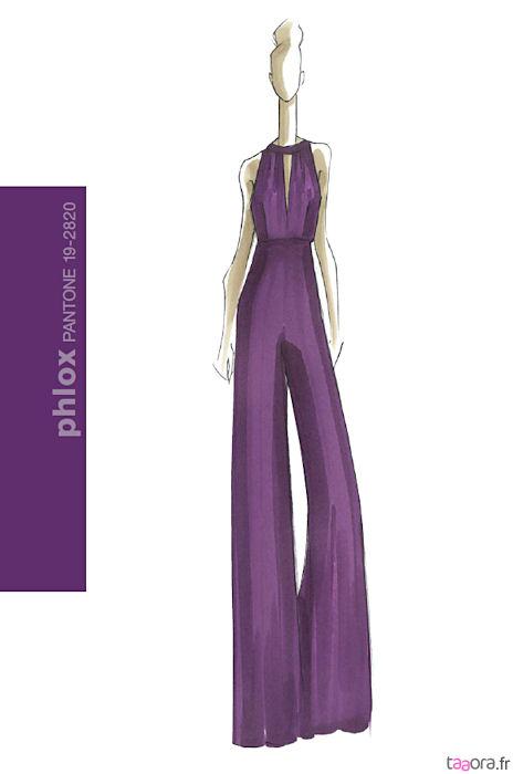 Violet couleur tendance Hiver 2011-2012