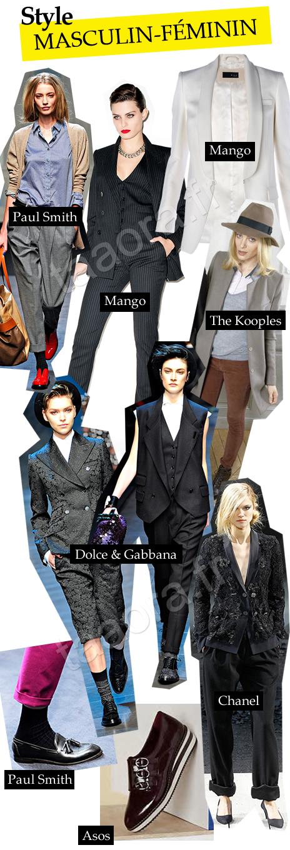 Costume tailleur costume prince de galles car interior design - Style masculin feminin ...