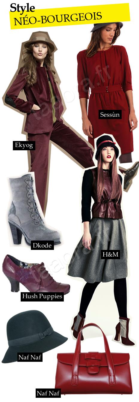 Mode style néo-bourgeois