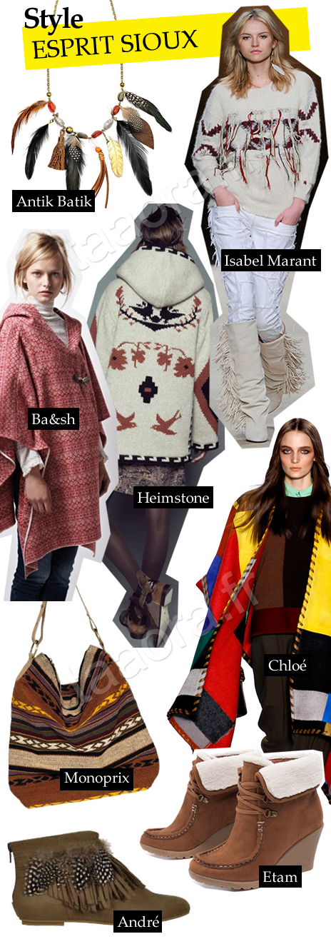 Style indien tendance Automne/Hiver 2011-2012