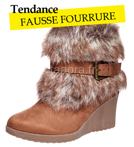 Chaussures fourrure Hiver 2011-2012