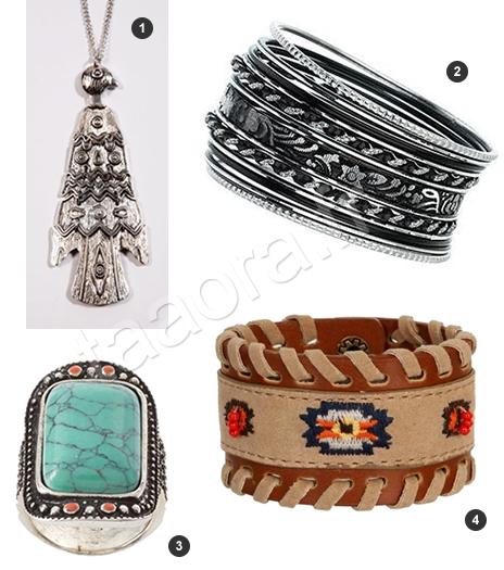 Bijoux tendance Navajo