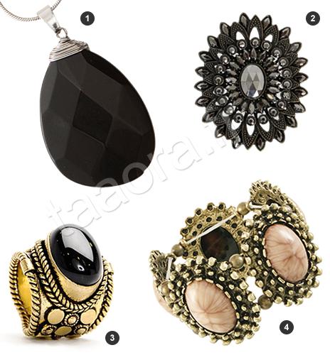 Bijoux style vintage