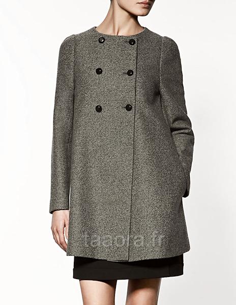 Manteau femme enceinte zara