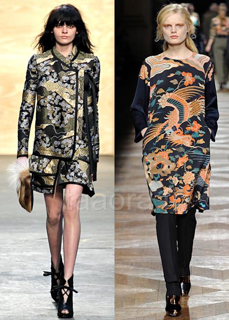 Robes asiatiques