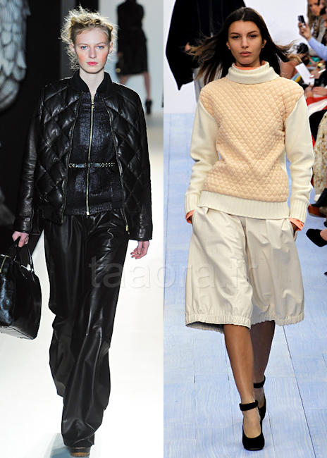Mode vêtements matelassés