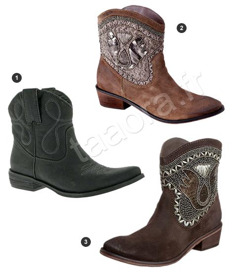 recherche d'authentique profitez de la livraison gratuite dernière mode Boots western santiags Automne/Hiver 2012-2013 – Taaora ...