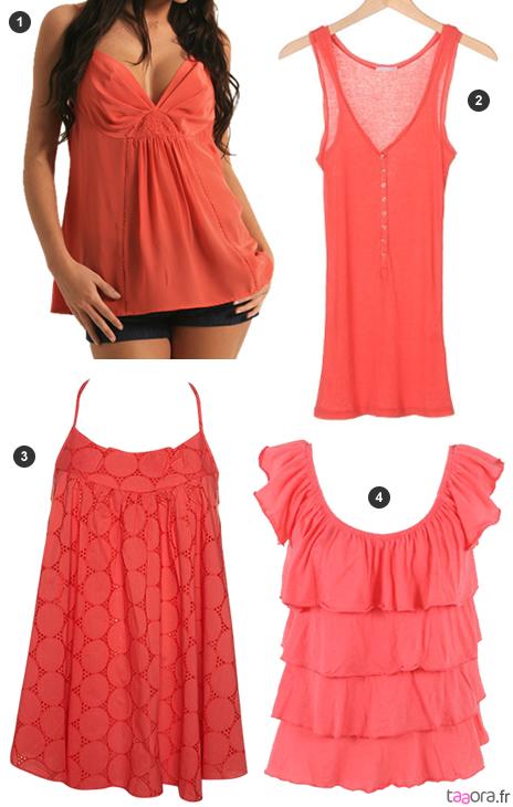 La mode couleur corail – Taaora – Blog Mode, Tendances, Looks f3b546fc9fd