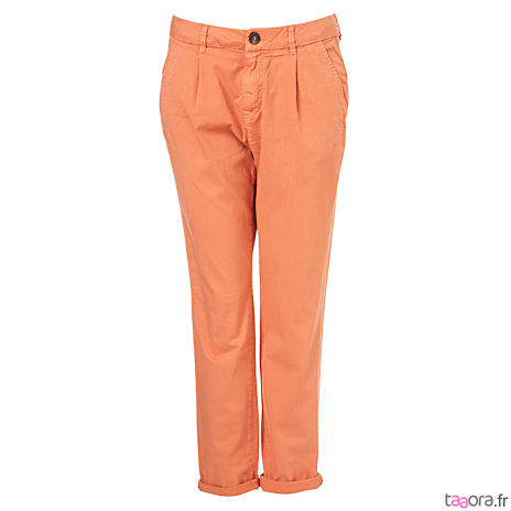 Pantalon orange tendance