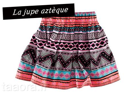 Jupe aztèque