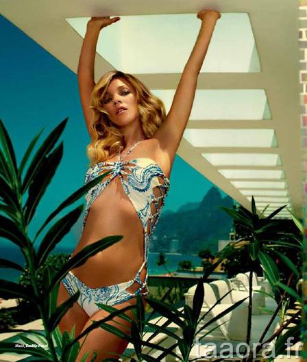 Kate Moss Vogue Brésil