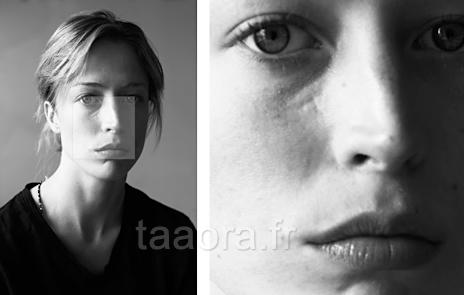 Raquel Zimmermann sans maquillage
