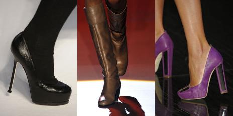 Les chaussures de l'Automne/Hiver 2008-2009