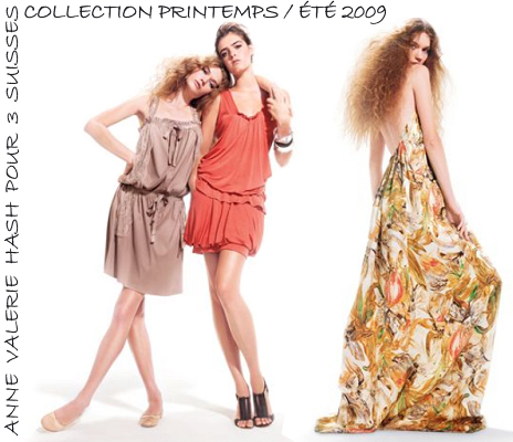 Été 2009 – Anne Valérie Hash pour 3 Suisses – Taaora – Blog Mode,  Tendances, Looks 5fac1bb87bd