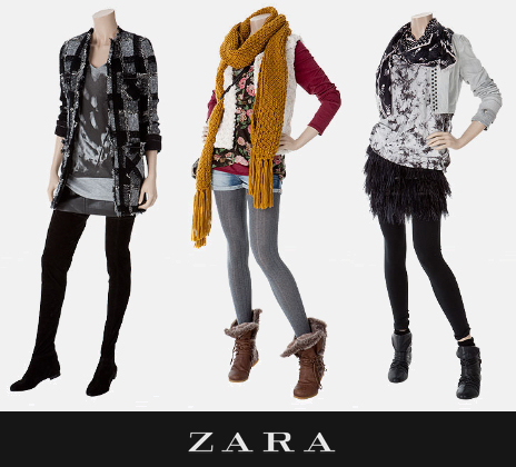 collection zara automne hiver 2009 2010 taaora blog mode tendances looks. Black Bedroom Furniture Sets. Home Design Ideas