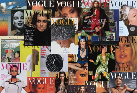 90 ans de couvertures de Vogue Paris