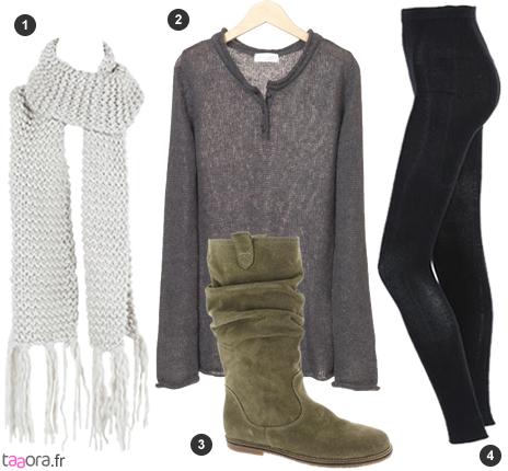 Idée de look casual pour l'hiver - Taaora - Blog Mode, Tendances, Looks