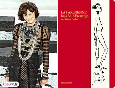 Livre La Parisienne d'Inès de la Fressange