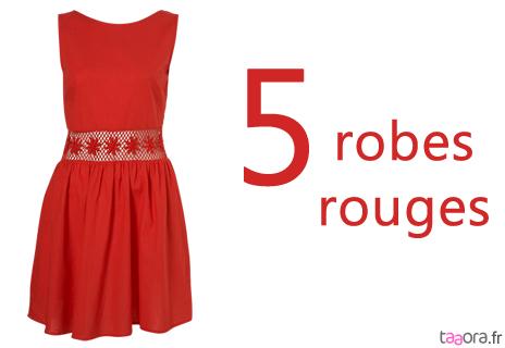 5 robes rouges pour l t 2011 taaora blog mode tendances looks. Black Bedroom Furniture Sets. Home Design Ideas