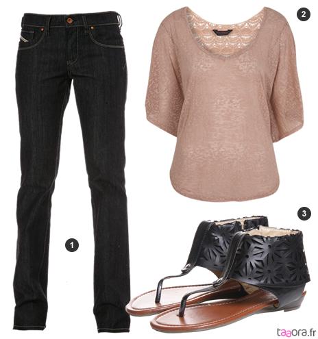 Idée de look avec un jean brut Diesel – Taaora – Blog Mode, Tendances, Looks e9bdfa97efc