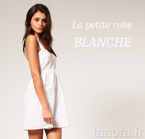 robe blanche tendance printemps t 2011 taaora blog mode tendances looks. Black Bedroom Furniture Sets. Home Design Ideas