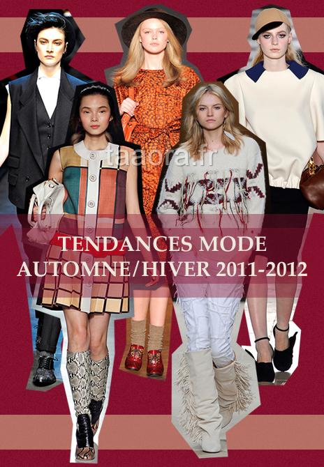 Tendances mode Automne/Hiver 2011-2012