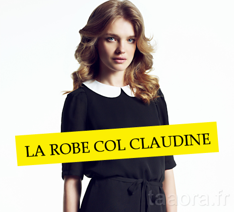 dcb6abe7c4d 6 robes col Claudine Automne Hiver 2011-2012 – Taaora – Blog Mode ...