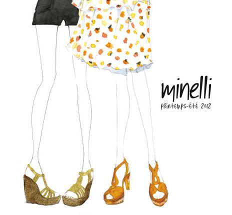Chaussures Minelli Été 2012