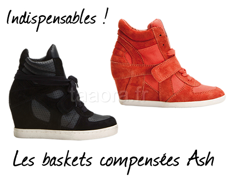 980ffb1520dd8e Baskets compensées Ash Printemps/Été 2012 – Taaora – Blog Mode ...