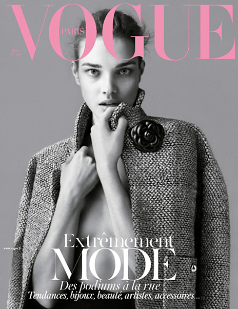 Natalia Vodianova en couverture de Vogue Paris \u2013 Taaora