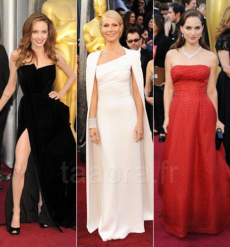 Oscars 2012 Le Look Des Stars Sur Le Tapis Rouge Taaora Blog