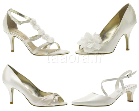 ae4b30e7d5be57 Chaussures de mariage Eram – Taaora – Blog Mode, Tendances, Looks
