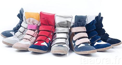 650a0640997bc5 Baskets compensées Lemaré : ersatz Isabel Marant – Taaora – Blog ...