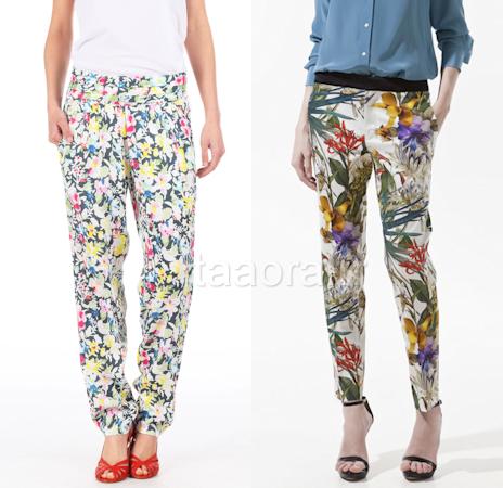 Comment porter un pantalon fleuri taaora blog mode tendances looks - Comment porter un pantalon beige ...