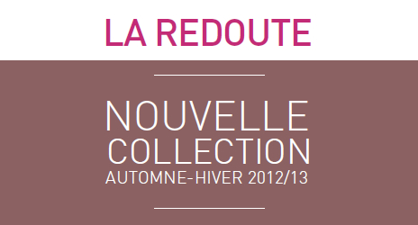la redoute collection automne hiver 2012 2013 taaora blog mode tendances looks. Black Bedroom Furniture Sets. Home Design Ideas