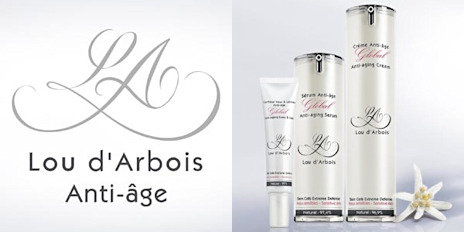 Gamme anti-âge bio Lou d'Arbois