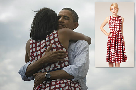 Robe ASOS comme Michelle Obama