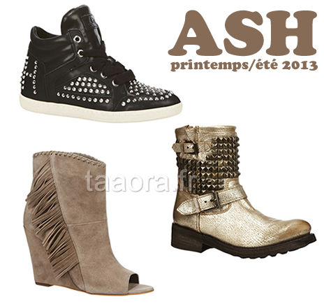 2ee4e53f872e9d Ash chaussures collection Printemps/Été 2013 – Taaora – Blog Mode ...