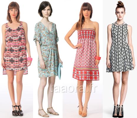 Blog – Pour ModeTendances L'été Taaora Robes 2013 12 Imprimées nwv80Nm